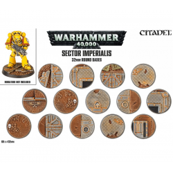 Sector Imperialis 32mm Bases